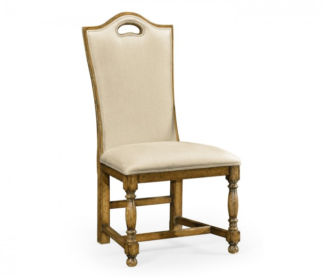 Casual High Back Side Chair