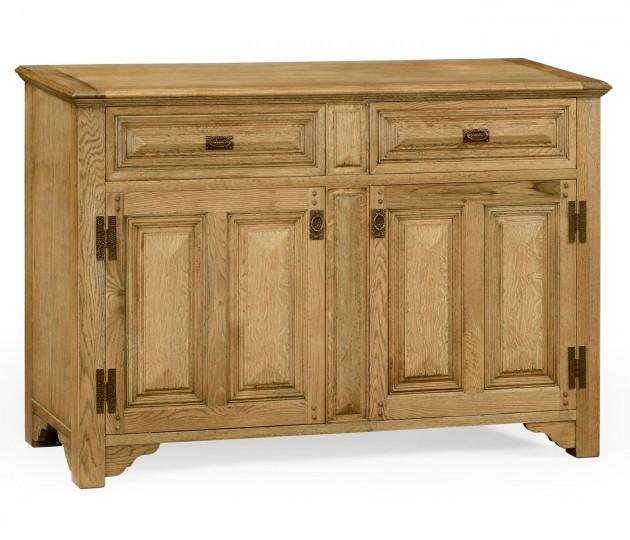 Natural Oak Tudorbethan Sideboard
