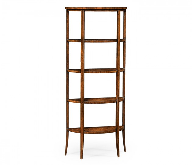 Biedermeier Style Five-Tier �tag�re (Mahogany)