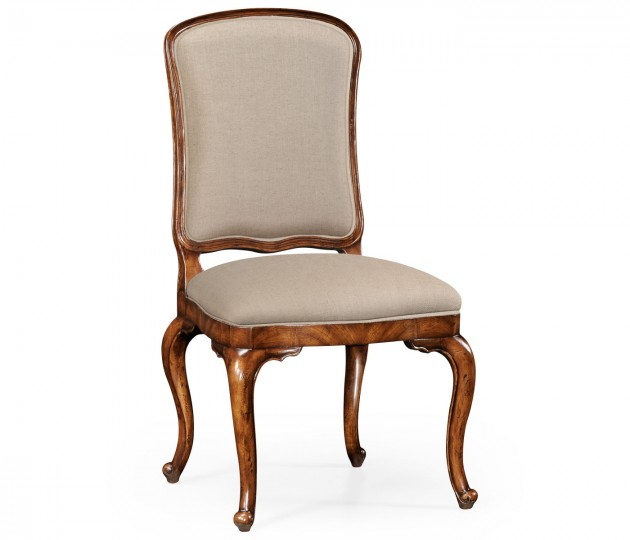 French Dressing Side Chair, Upholstered in MAZO