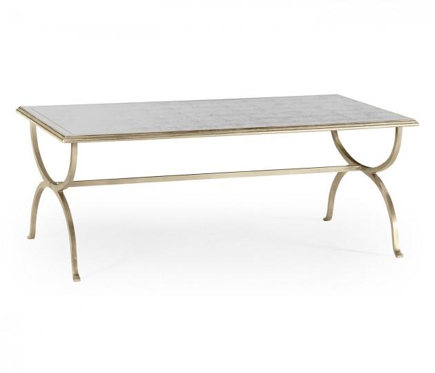 �glomis� & Silver Iron Coffee Table