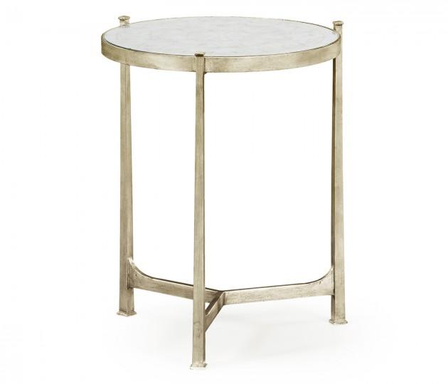 �glomis� & Silver Medium Iron Lamp Table