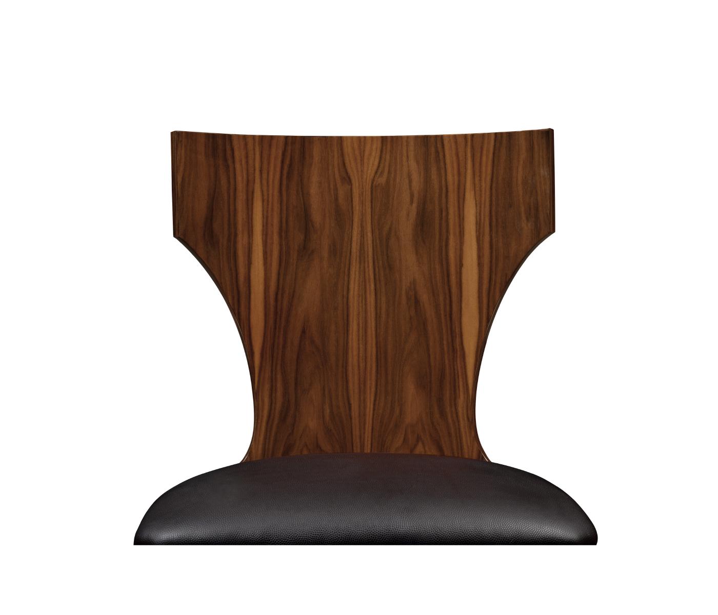 Admirable Art Deco Satin Klismos Chair In Brown Leather Unemploymentrelief Wooden Chair Designs For Living Room Unemploymentrelieforg