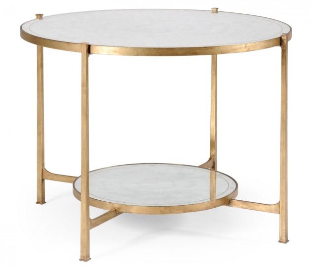 �glomis� & Gilt Iron Centre Table