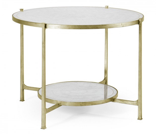 �glomis� & Silver Iron Centre Table