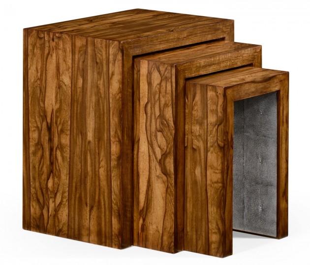 Argentinian Walnut Nest of Tables
