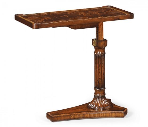 Mahogany Adjustable Sofa/Bed Table