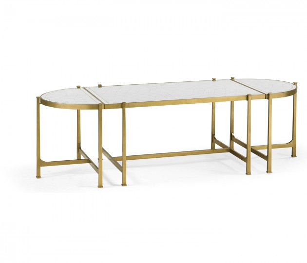 �glomis� & Gilded Iron Bunching Tables