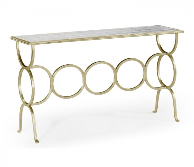 �glomis� & Silver Iron Circles Console