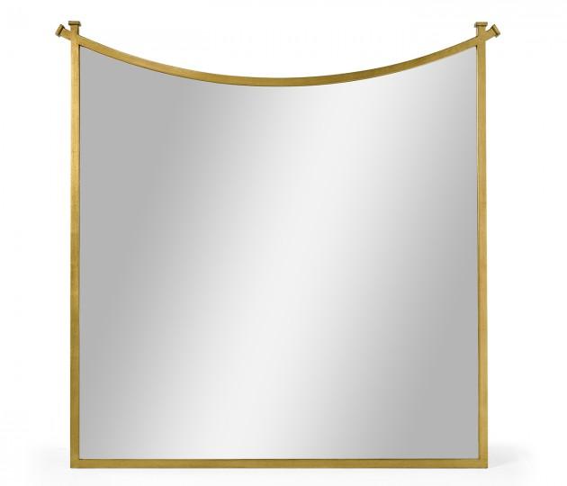 Gilded Iron Mirror