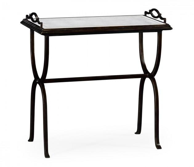 �glomis� & Bronze Iron Tray Table