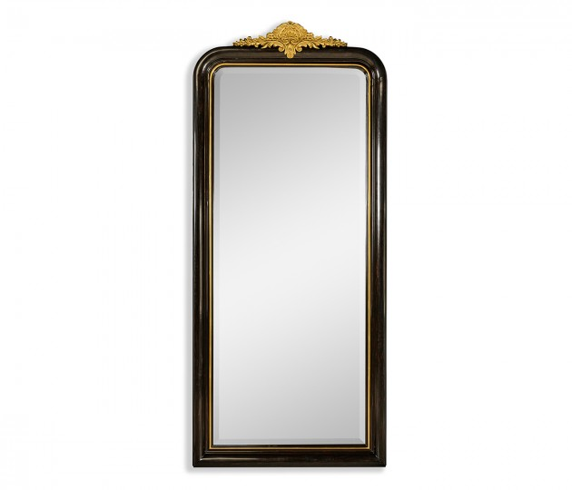 Black & Gilded Mirror (Full Length)