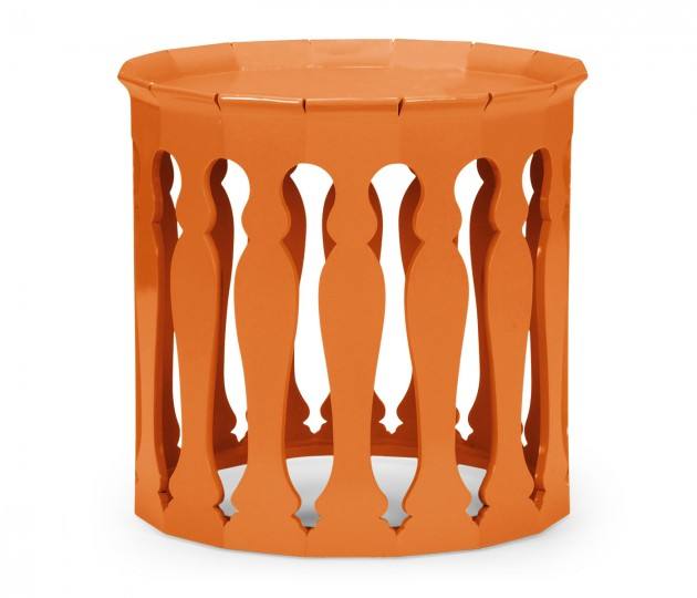 Moorish Sofa Tables (Pumpkin Cream)