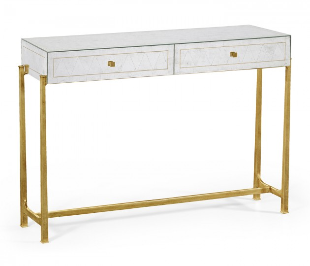 �glomis� & Gilded Console