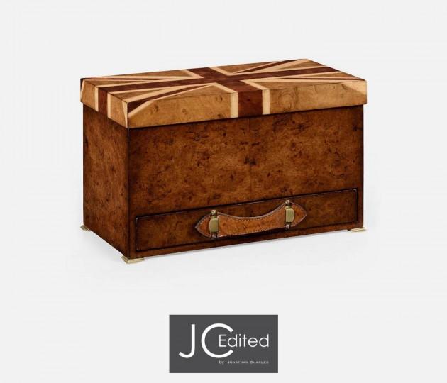 Union Jack Rectangular Box