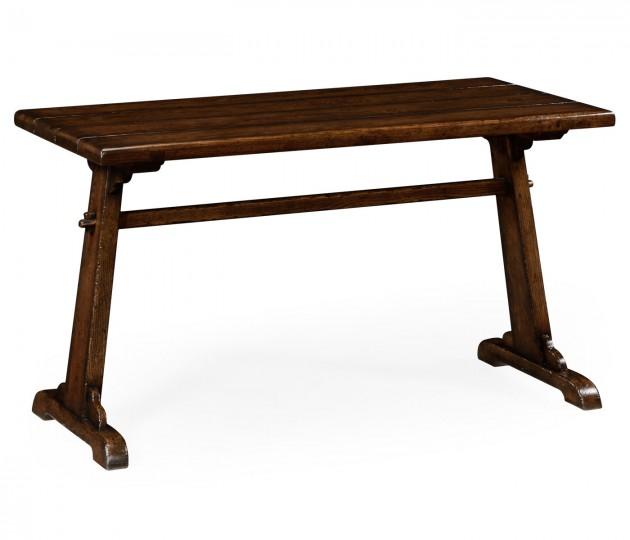 Oak tavern dining table medium