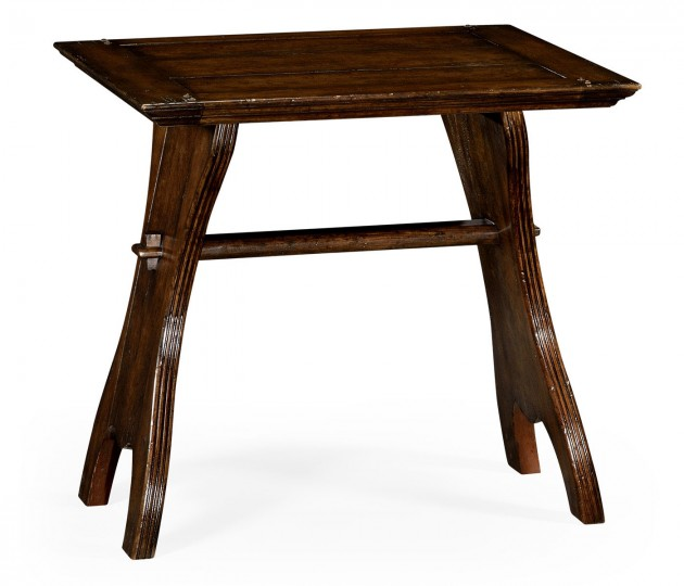Oak tavern dining table small