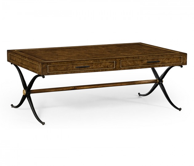 Hammered Iron Coffee Table