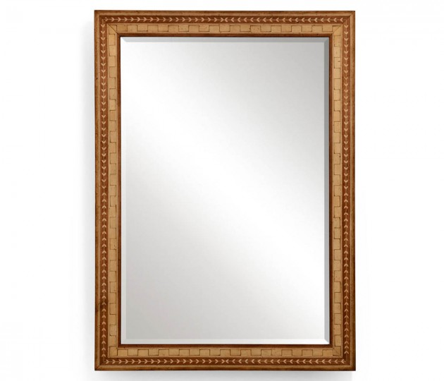 Satinwood mirror