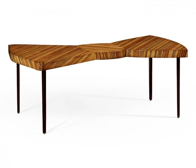 Satinwood Bowtie Coffee Table