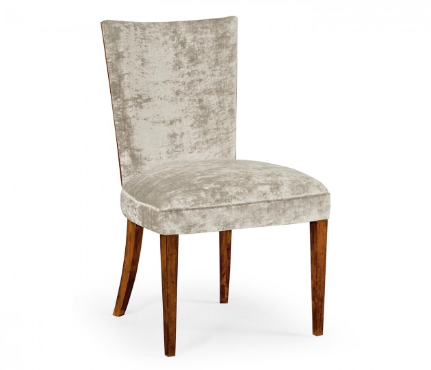 Biedermeier Style Mahogany Dining Side Chair (Calico)
