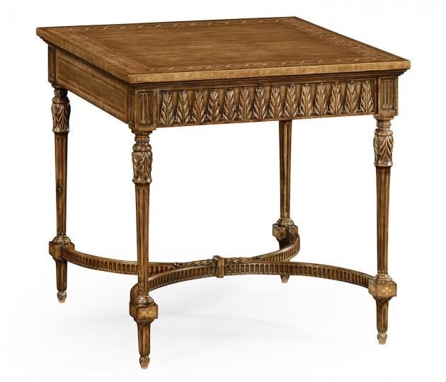 Napoleon III style side table with fine inlay