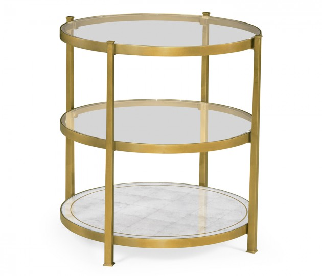 Gilded Three Tier Table