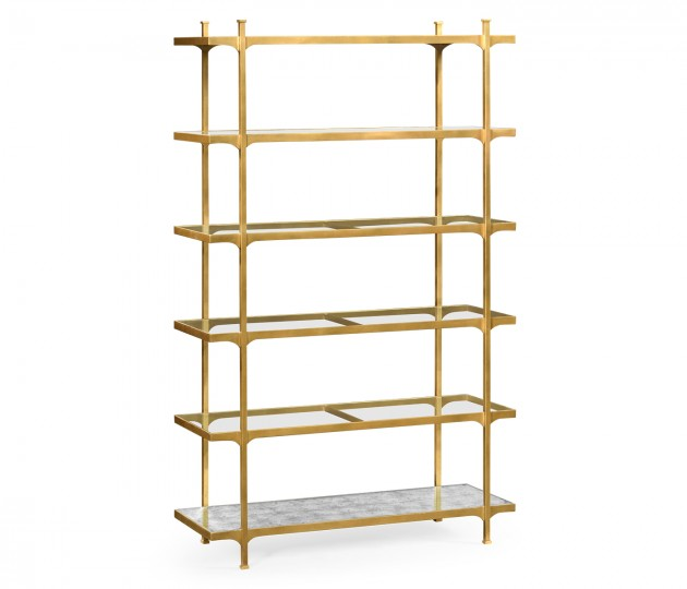 Gilded Six Tier �tag�re
