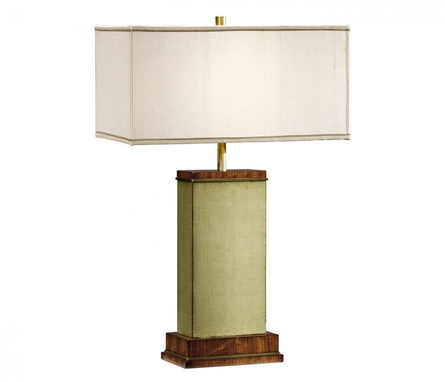 Sage Finish Hyedua Rectangular Table Lamp