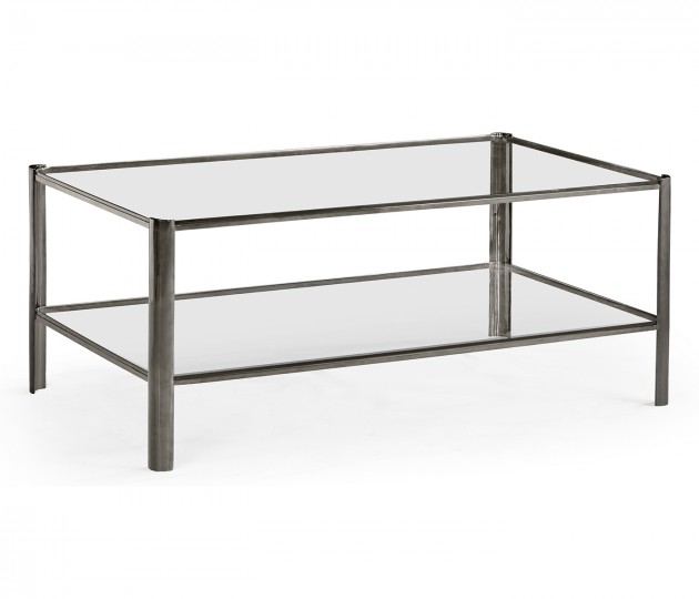 Gatsby Black Nickel Cocktail Table
