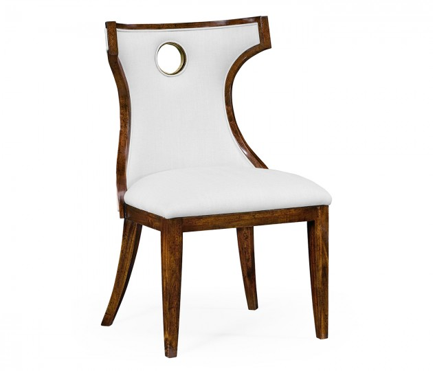 Greek revival Biedermeier mahogany side chair - COM