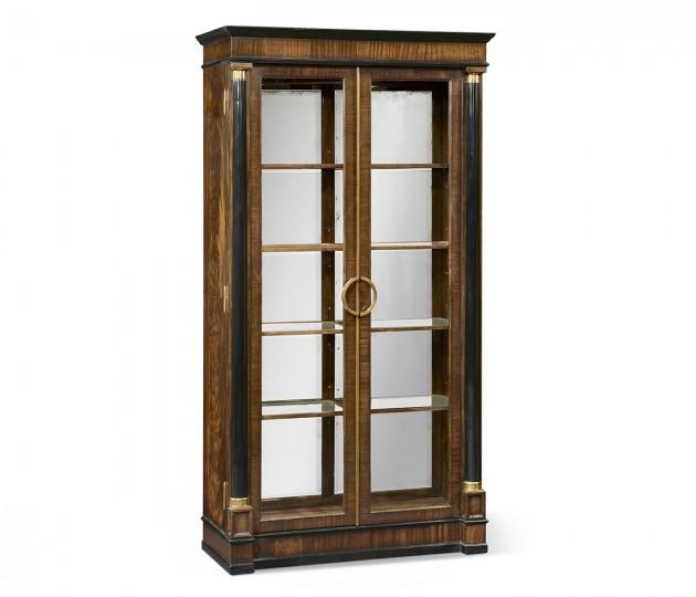 Regency Antique Mahogany Display Cabinet