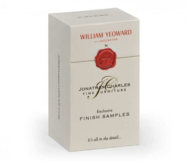 William Yeoward �collected finish sample box (14 samples)