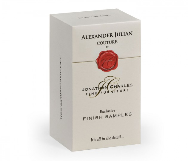 Alexander Julian�s finish sample box (14 samples)