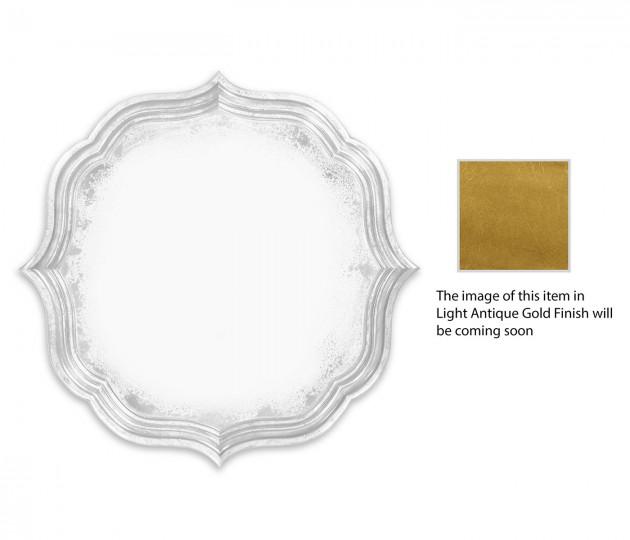 Round antique mirror (Gilded)