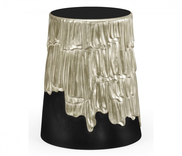 Silver lamp table