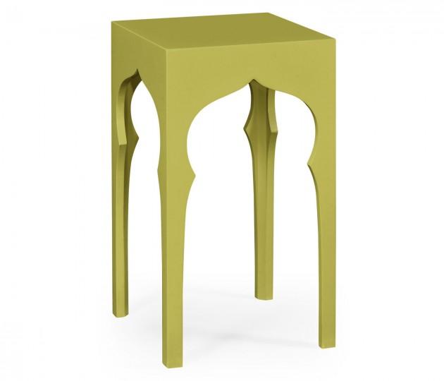 Square Lamp Table (Split Pea)