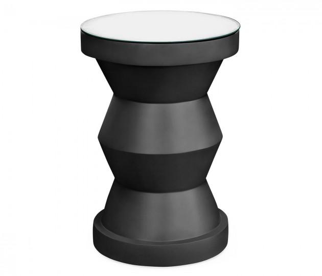 Charoal round wine table