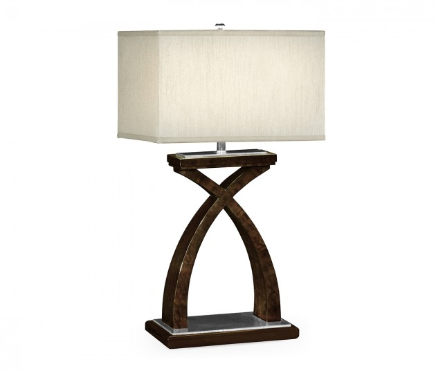 Black Eucalyptus Table Lamp