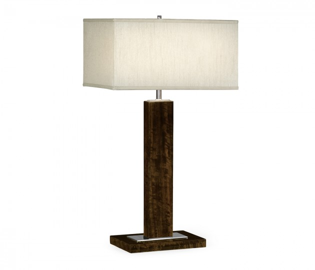 Black Eucalyptus Rectangular Table Lamp