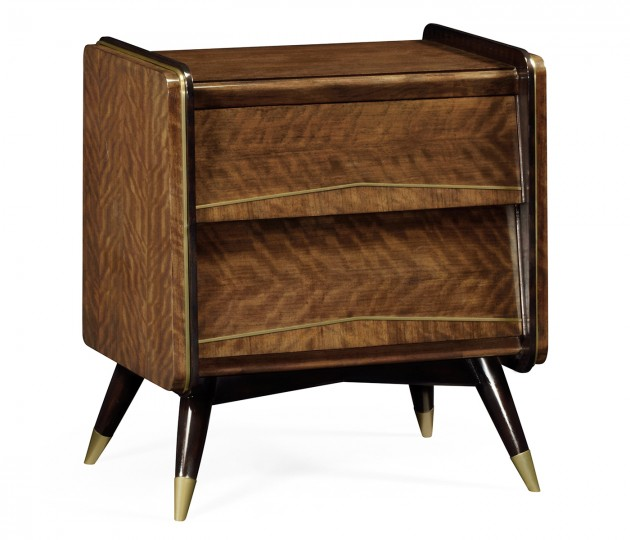 Hyedua Mid-Century Bedside Chest of Drawers