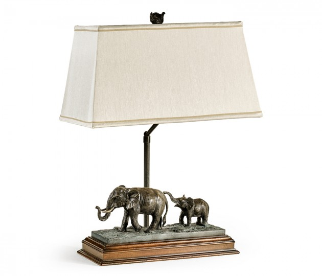 The elephant table lamp (Right)