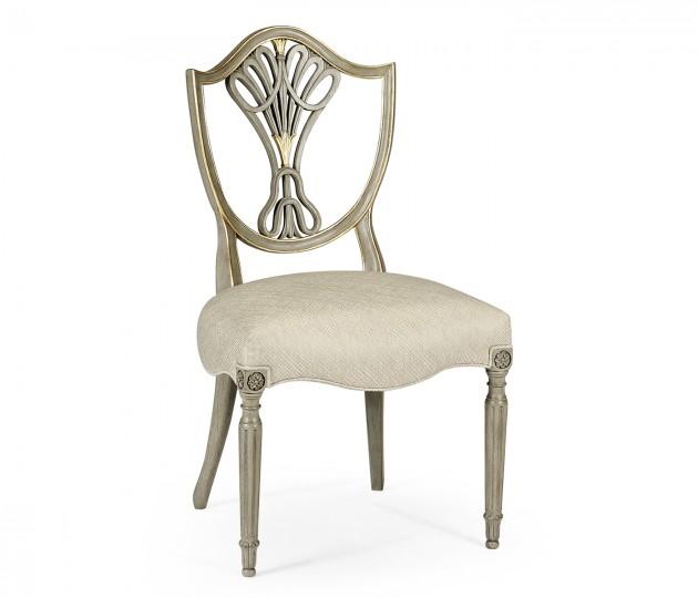 Buckingham Shield Back Side Chair