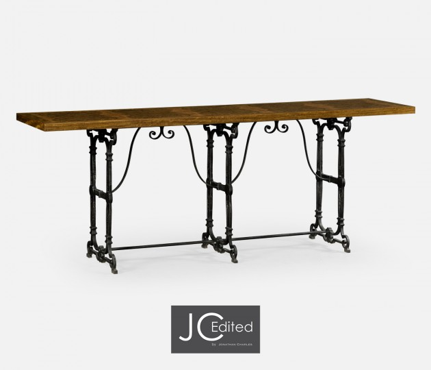 Caledonian Daniella & Iron Console Table