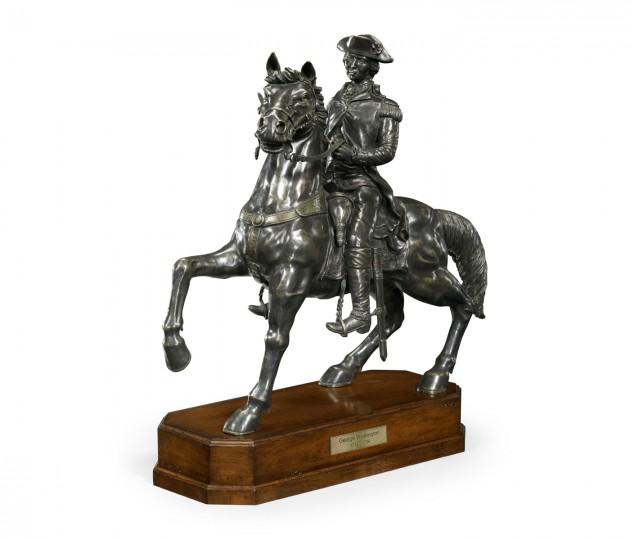 Dark Antique Bronze George Washington Statue