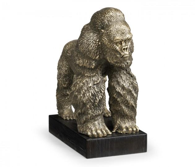 Light Brass King Kong Statue