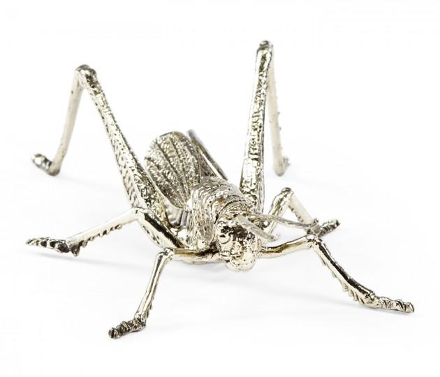 White Brass Grasshopper