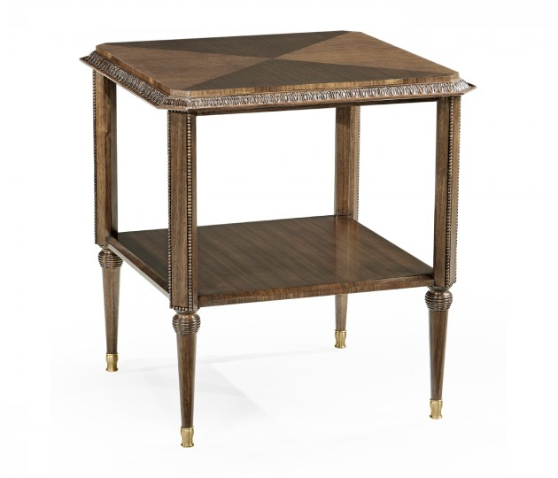 Berkley Square Side Table with Undertier
