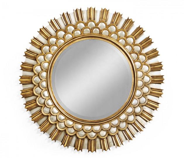 """Berkley 36"""" Round Mirror"""