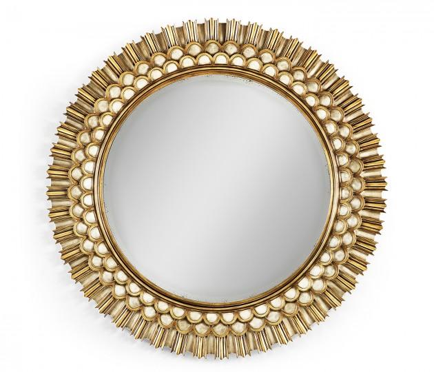 """Berkley 48"""" Round Mirror"""